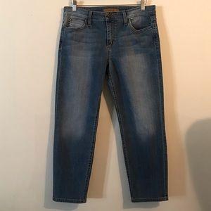 Joe's Vintage Reserve Straight Crop Jeans, Size 30